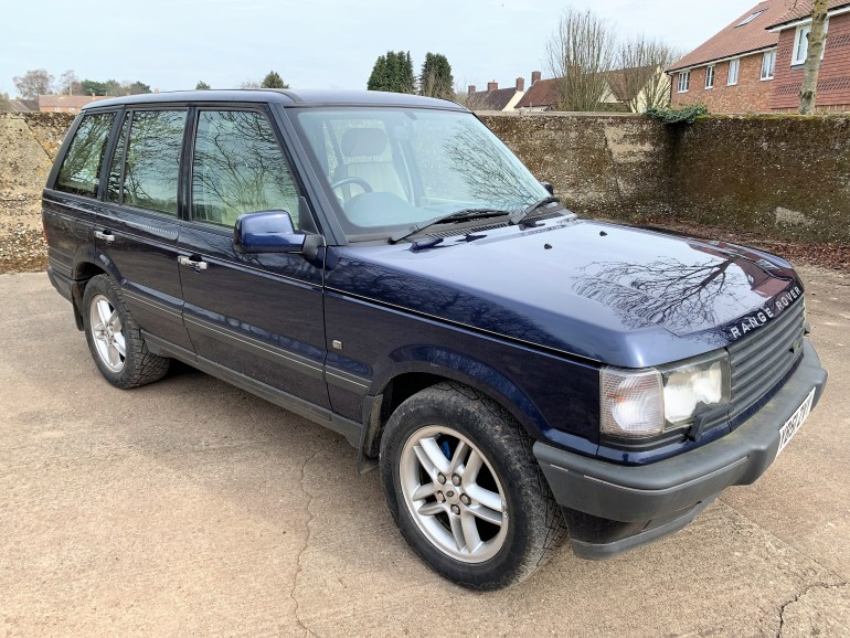 2002 RANGE ROVER P38A 2.5 DHSE FOR SALE AT MOTODROME THE CLASSIC LAND ROVER SPECIALISTS