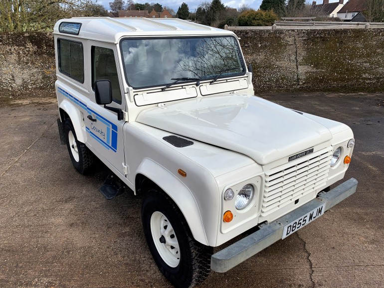 1987/D LAND ROVER 90 V8 COUNTY STATION WAGON FOR SALE AT MOTODROME THE CLASSIC LAND ROVER SPECIALIST