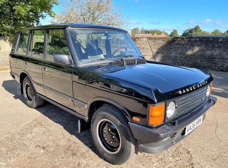 1993/K Range Rover Vogue SE 3.9 Auto LHD FOR SALE AT MOTODROME