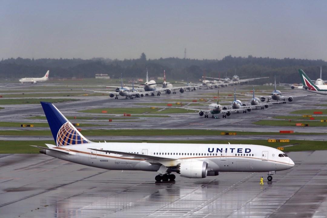 成田空港渋滞