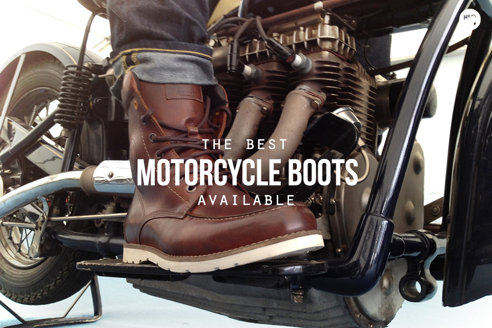 bottes moto timberland