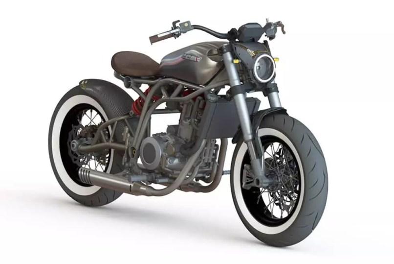 Ccm Spitfire Bobber Moto
