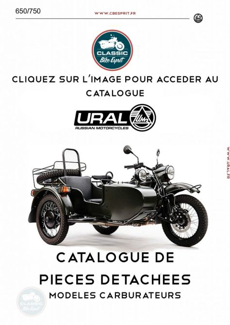 Catalogue de Pieces Détachées Carburateur Ural Classic Bike Esprit-1