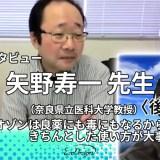 【インタビュー】矢野寿一 先生(奈良県立医科大学教授)〈後編〉——オゾンは良薬にも毒にもなるから、きちんとした使い方が大事