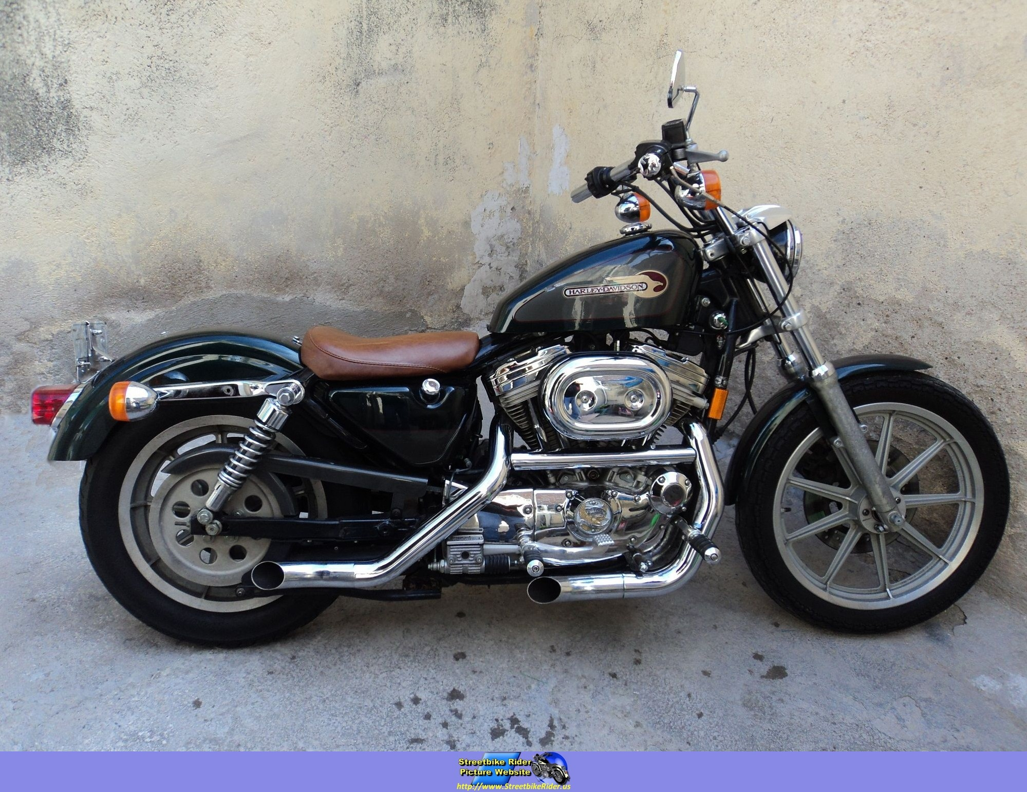 harleydavidson 883 sportster hugger 1995 4?resize\\\\\\\\\\\\\\\=665%2C513 1995 flht wiring diagram wiring diagram shrutiradio 1972 Harley FLH at webbmarketing.co