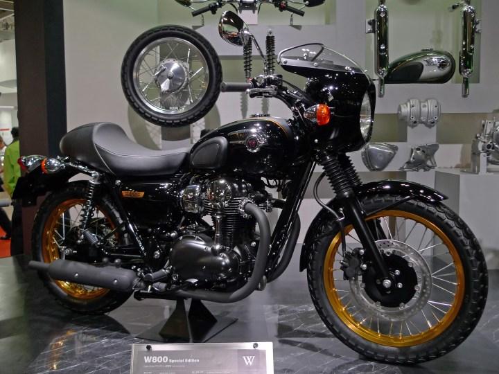 Kawasaki W800 Cafe Racer Usata Newmotorjdico