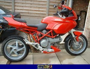 2003 Ducati Multistrada 1000 DS  MotoZombDriveCOM
