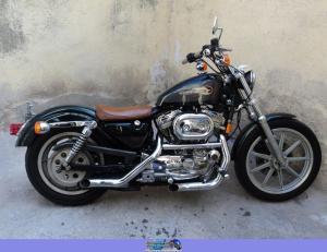 1995 HarleyDavidson 883 Sportster Hugger  MotoZombDriveCOM