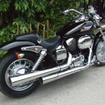Honda Honda Shadow Slasher 400 Moto Zombdrive Com