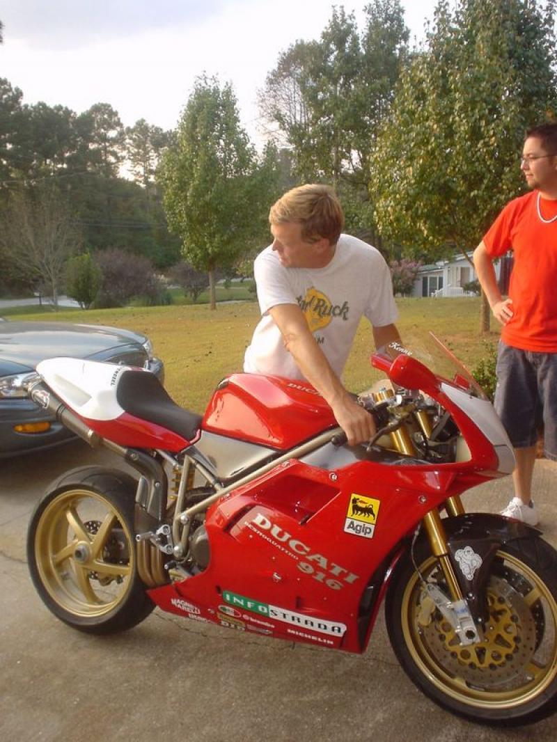 1996 Ducati 916 Biposto MotoZombDriveCOM