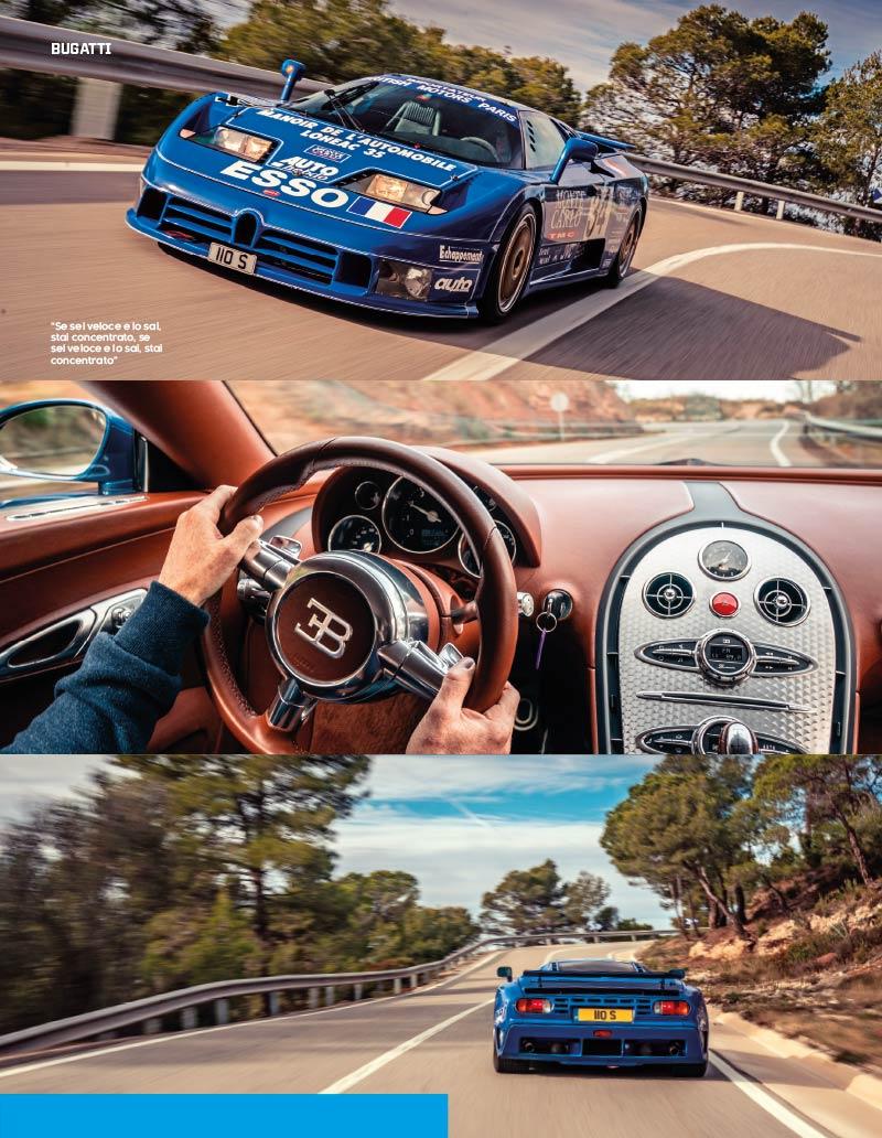TopGear Italia magazine Bugatti
