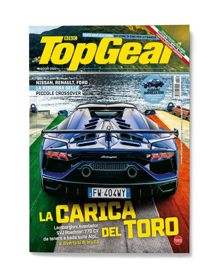 copertina TopGear Italia numero 2