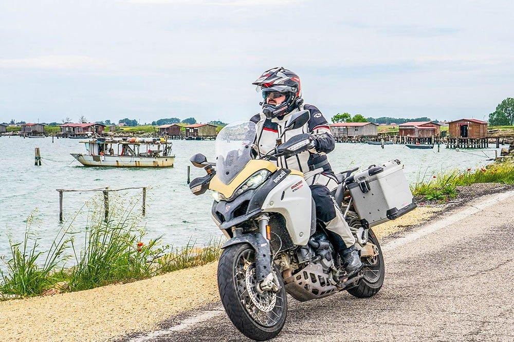 Ducati Multistrada 1260 Enduro - Delta del Po e laguna di Venezia.