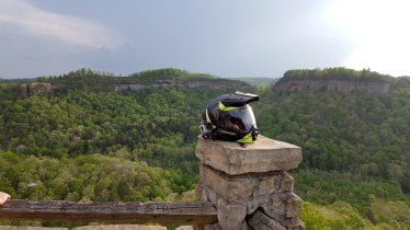 Chimney Top Rock Cliffs MotoADVR