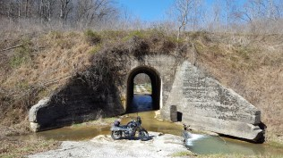 Railroad Tunnel Creek Crossing MotoADVR