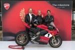 Ducati dévoile la nouvelle Panigale V4 25°Anniversario 916, en édition limitée