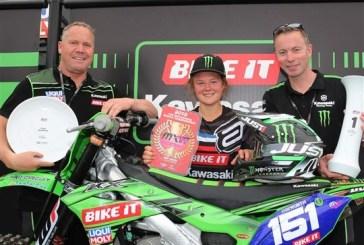 WMX : Courtney Duncan prolonge son contrat avec Kawasaki et Bike It DRT