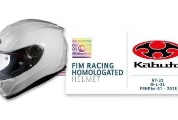 KABUTO obtient l'homologation FIM Racing