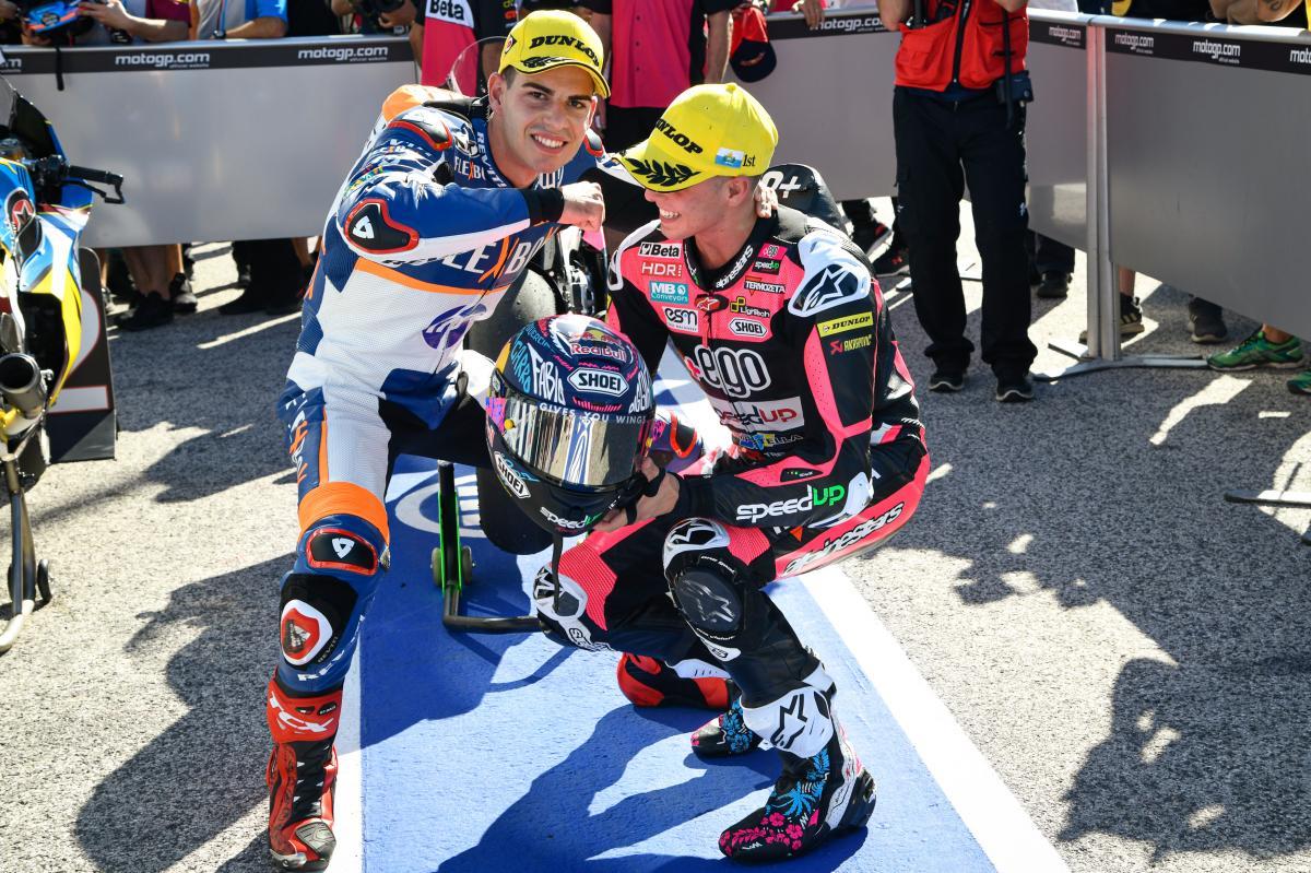 Moto2 – Misano : Fernández vainqueur sur Di Giannantonio