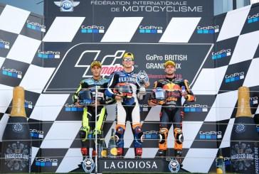Moto2 - Silverstone : Fernández victorieux, Márquez chute