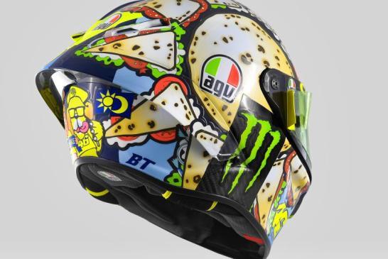 Rossi dévoile un casque spécial pour Misano 2019 1