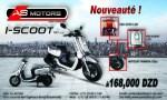 """AS Motors lance le nouveau """"I-SCOOT"""""""