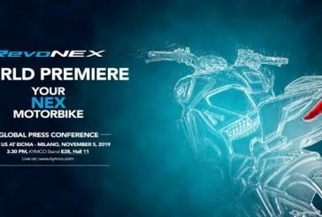 Kymco publie un Teaser du nouveau modèle RevoNEX