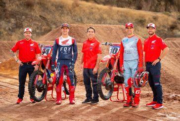 Honda présente les équipes AMA Supercross et Arenacross 2020