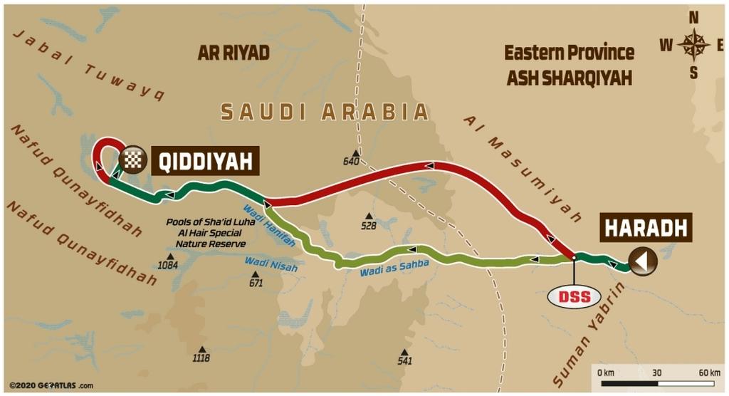 DAKAR 2020 – Stage 12 : de Haradh à Qiddiya