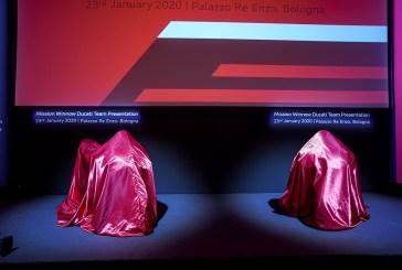MotoGP - Ducati : Présentation de la Team Mission Winnow Ducati 2020 à Bologne