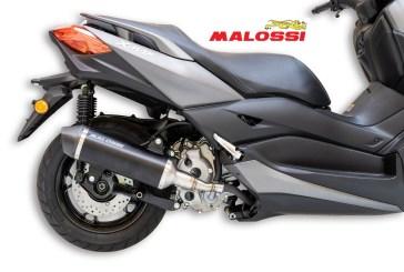 MALOSSI Algérie : Le pot RX Black pour XMAX 125/300 et NMAX 155 à 88.000 DA
