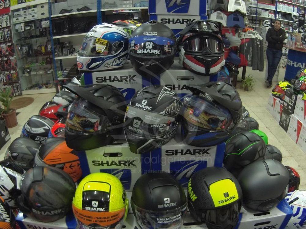 Shark Helmets Algérie - Sidi Achour Motos Pièces