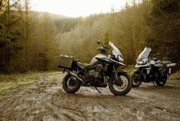 Triumph lance 2 nouvelles éditions spéciales de la TIGER 1200 : DESERT et ALPINE