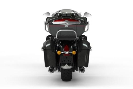 Indian 2020 - roadmaster_elite_thunder_black_vivid_crystal_over_gunmetal_flake_rear