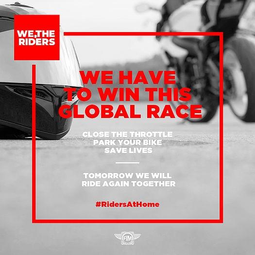 Coronavirus : #RidersAtHome, la course qu'il ne faut pas perdre
