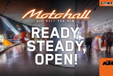 Le KTM Motohall se prépare pour sa réouverture en juin !