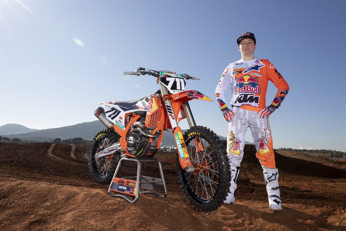 MX2 : Rene Hofer renouvèle son contrat Red Bull KTM jusqu'en 2022 !