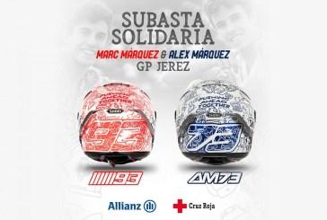 MotoGP : Marc et Álex Márquez dévoilent un casque spécial pour Jerez