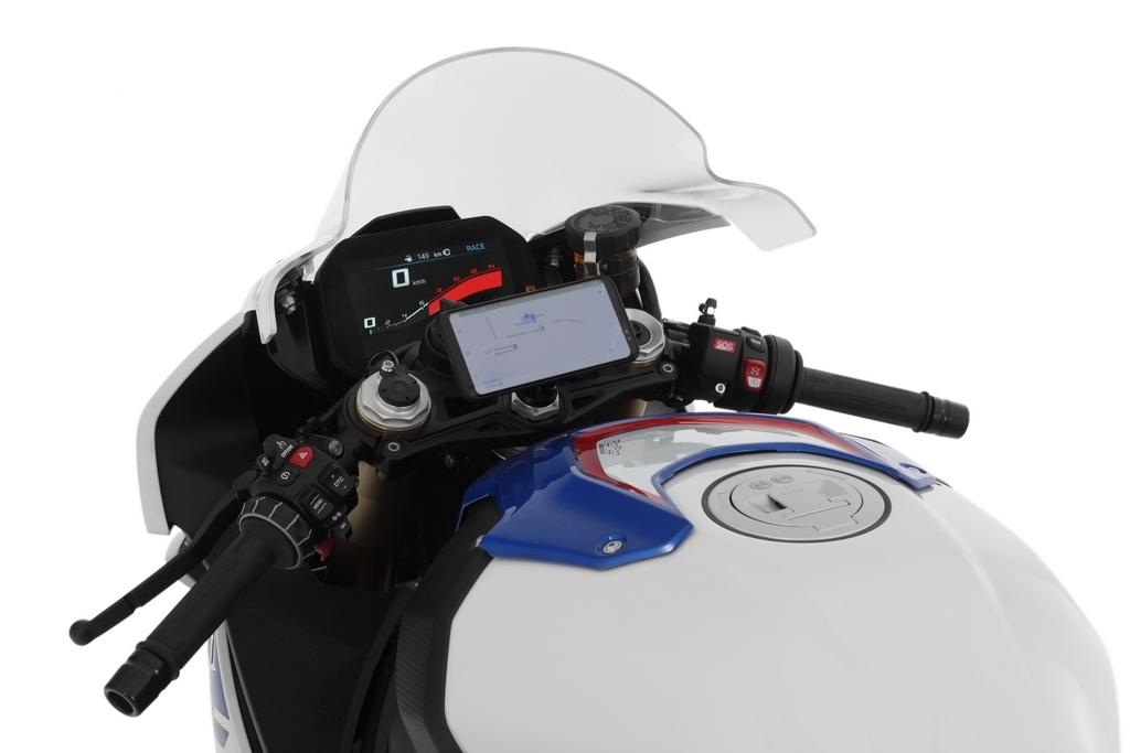 Wunderlich lance le support SP CONNECT pour guidon Supersport