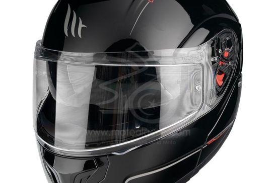 MT Helmets ATOM SV Solid GLOSS BLACK