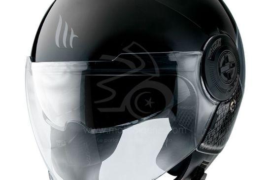 MT Helmets VIALE SV GLOSS BLACK