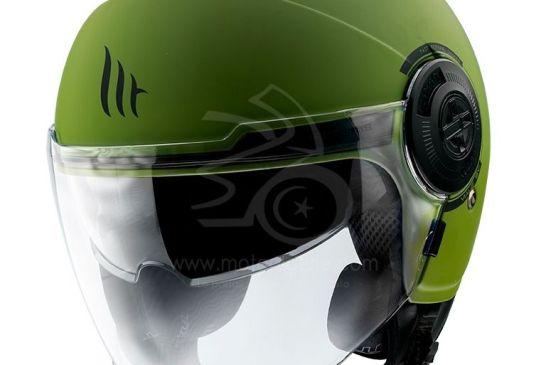 MT Helmets VIALE SV Solid A6 MATT GREEN