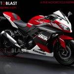 modif striping kawasaki ninja 250r FI red4