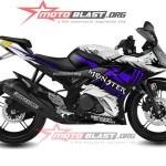 modif striping yamaha R15 - MONSTER ENERGY-5