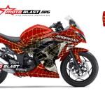 modif ninja 250R merah spiderman gold2