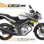 new vixion white simple decal 4