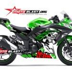 ninja 250 GREEN -STREET-motoblast