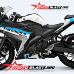 YAMAHA R25 BLACK-WHITE-PARADIGMA RACING1