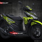 Vario 150 black green lemon speedmaster