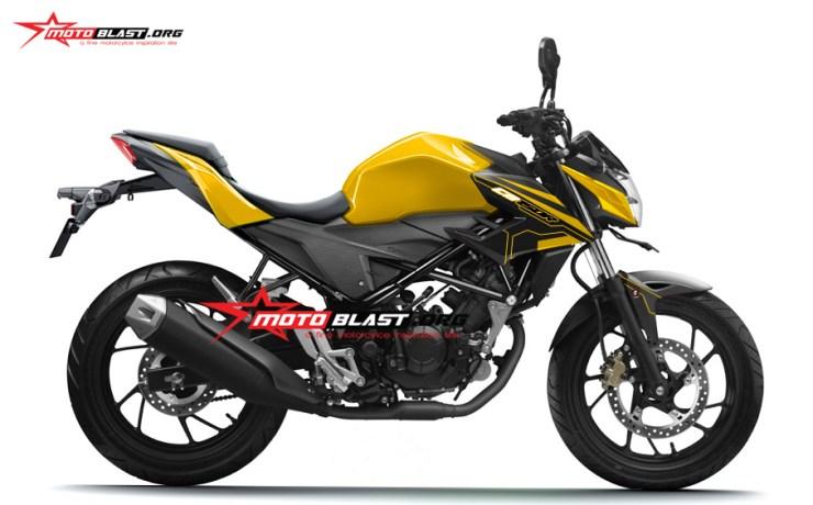 NEW CB150R BUNTUT Z250SL - RR MONO